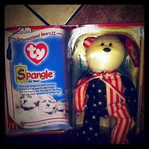 Ty international limited Spangle bear.